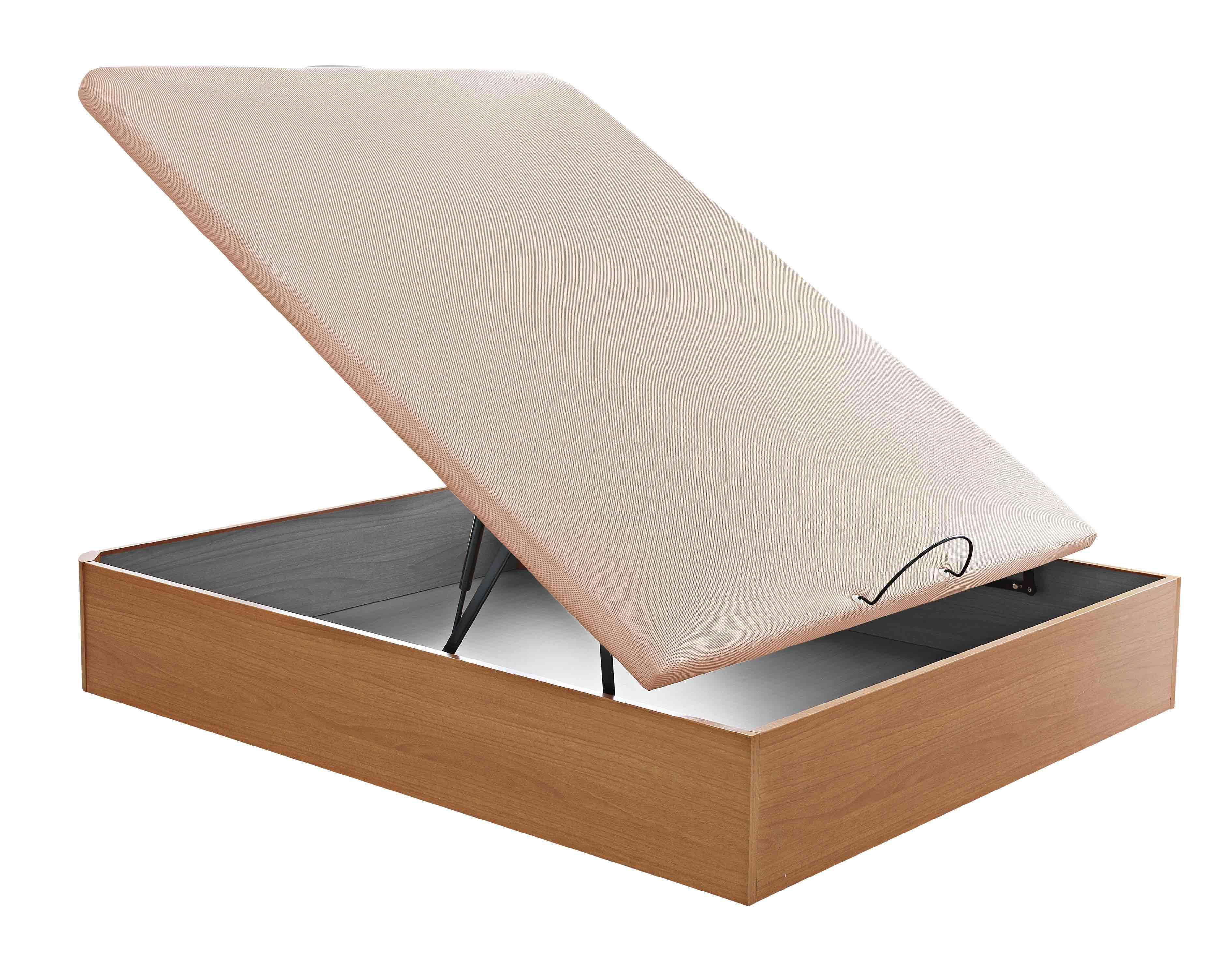 Canap de madera con somier menalib for Canape 90x180