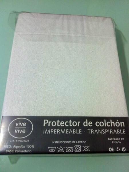 Portector de colch n menalib - Protector de colchon impermeable ...