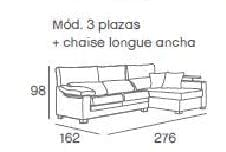 medidas chaiselongue